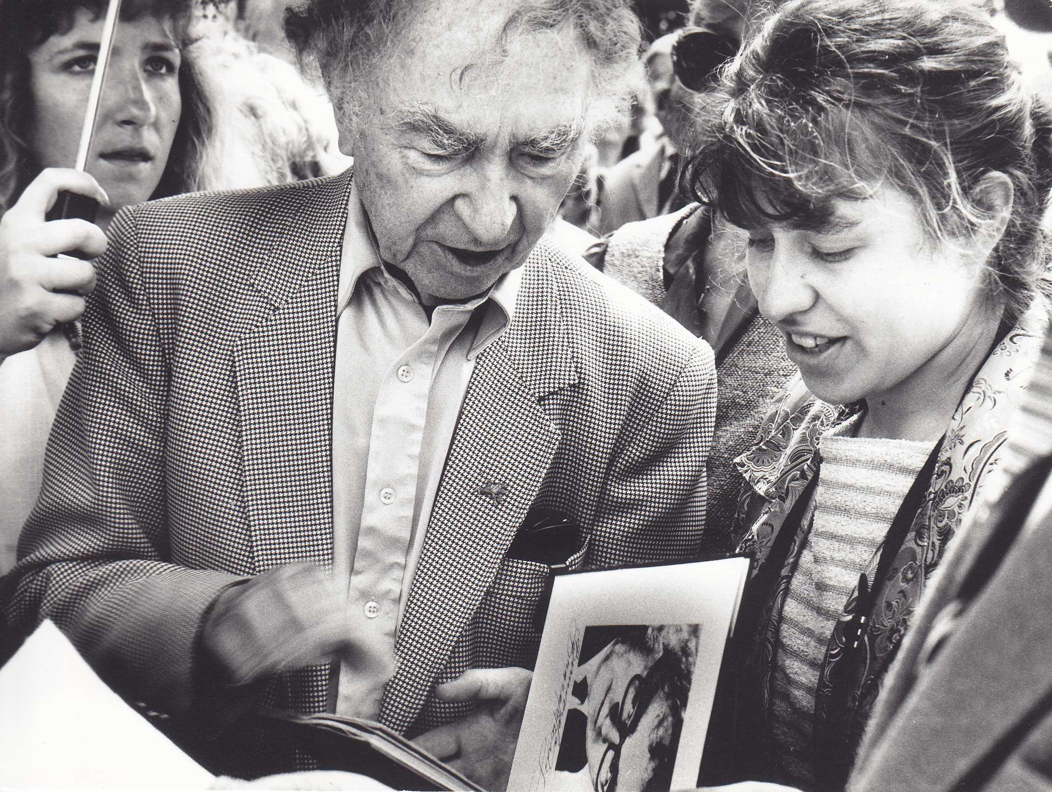 Dar vienas autografas Aidai Garastaitei