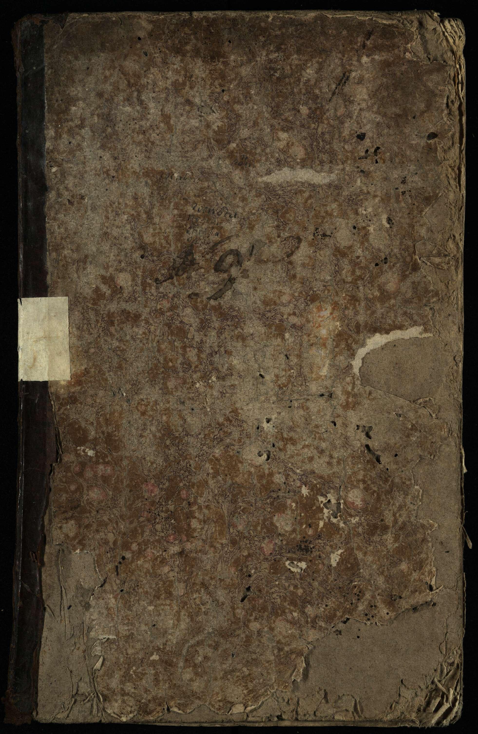 Pasvalio Romos katalikų parapijos bažnyčios 1825–1827 metų krikšto metrikų knyga