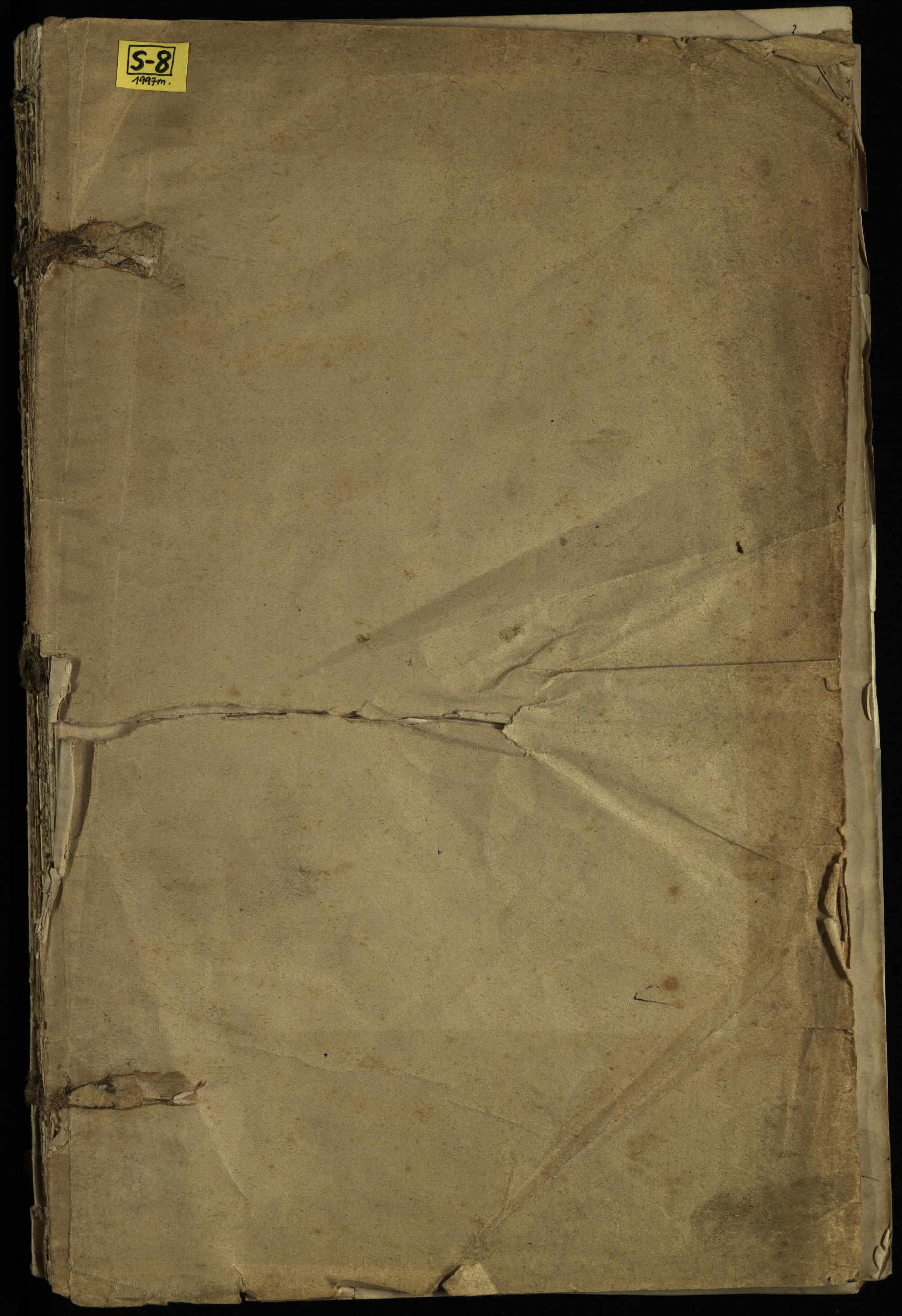 Pušaloto Romos katalikų parapijos bažnyčios 1904–1917 metų priešjungtuvinės apklausos knyga