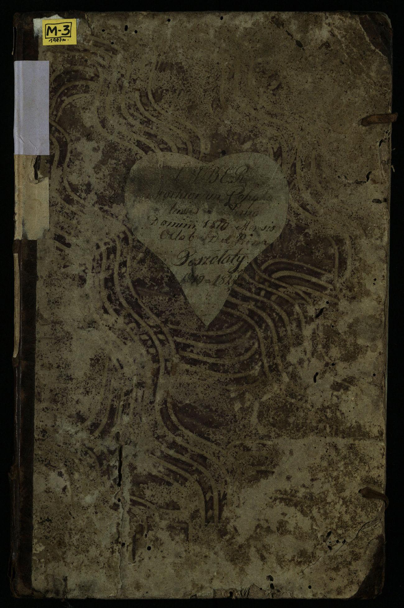 Pušaloto Romos katalikų parapijos bažnyčios 1810–1827 metų mirties metrikų knyga