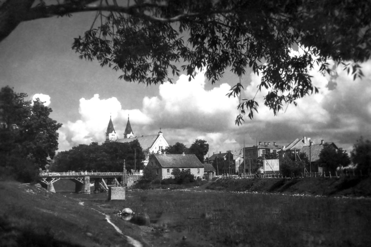 Pasvalio miesto panorama