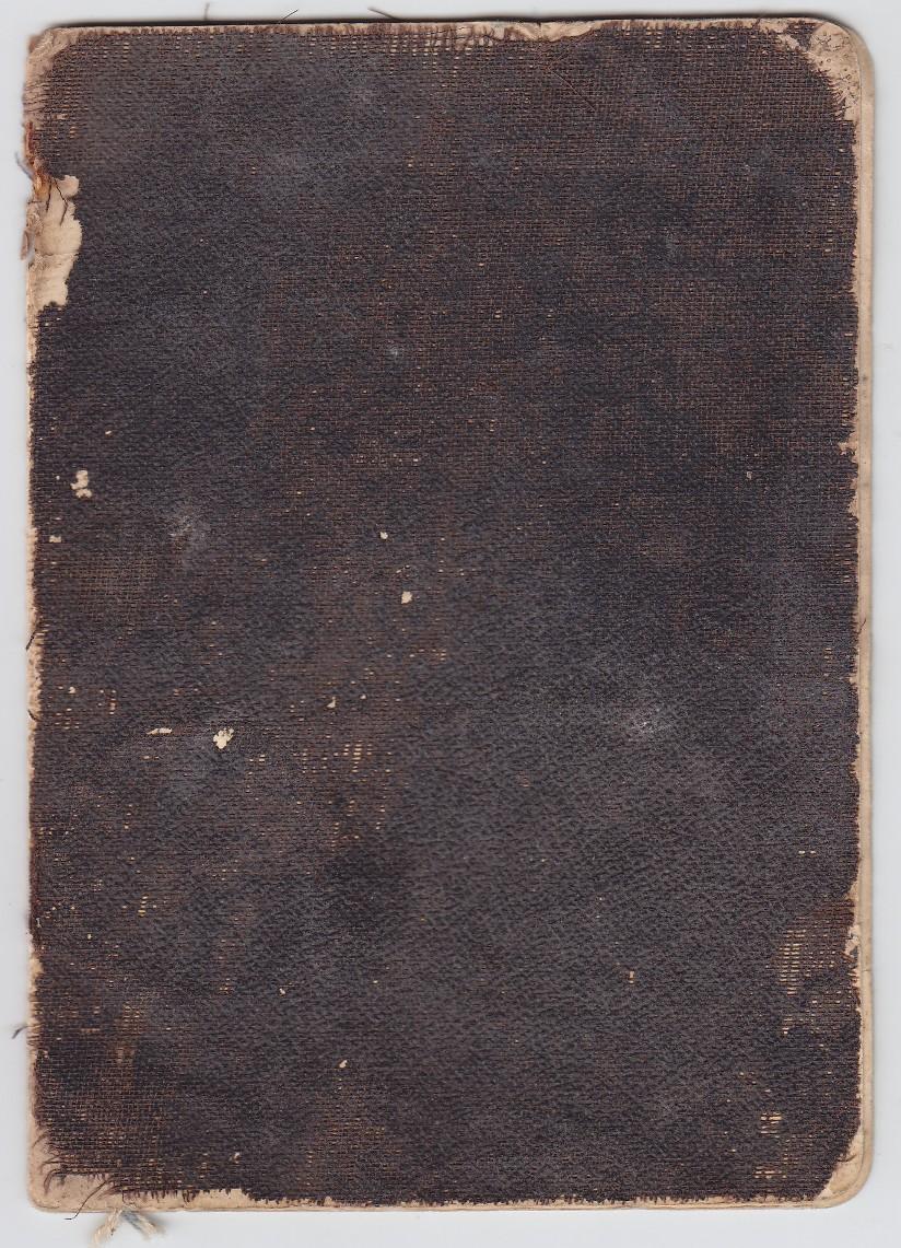 Bilietas ginklui savigynai įsigyti. 1910 m. Nr. 2799