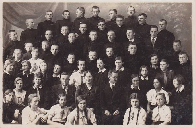 Pasvalio sportininkai Panevėžyje 1935-aisiais