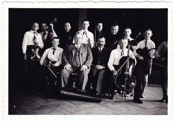 Pasvalio Petro Vileišio gimnazijos styginių orkestras