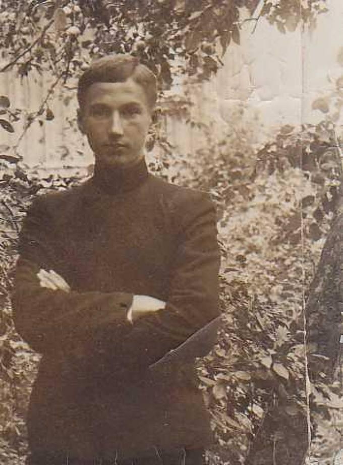 Jonas Vytautas Nistelis – septintos klasės mokinys
