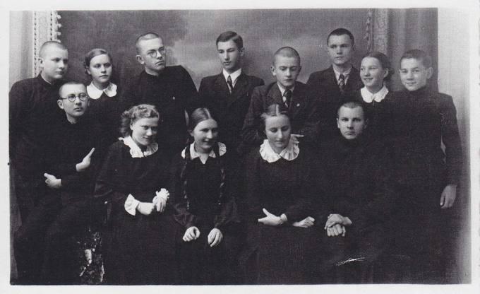 Pasvalio Petro Vileišio gimnazijos literatų būrelis