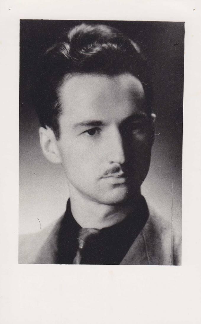 Jonas Vytautas Nistelis – Vytauto Didžiojo universiteto studentas
