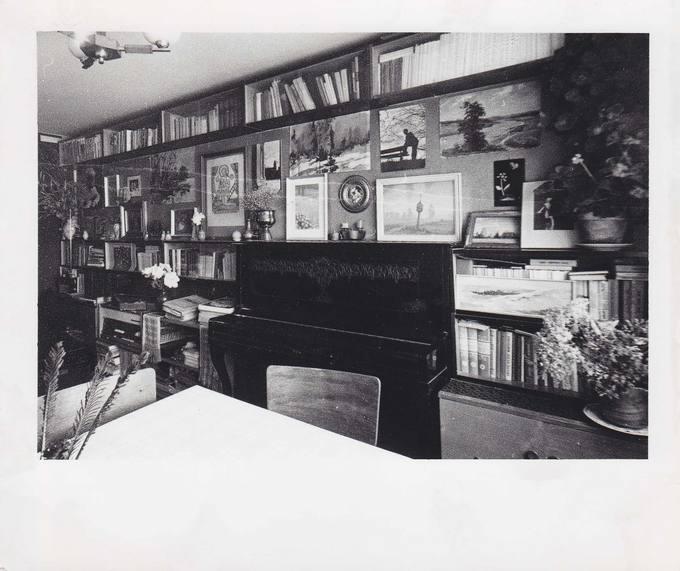 Jono Vytauto Nistelio darbo kambarys Šiauliuose
