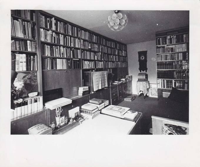Jono Vytauto Nistelio bibliotekos vaizdas