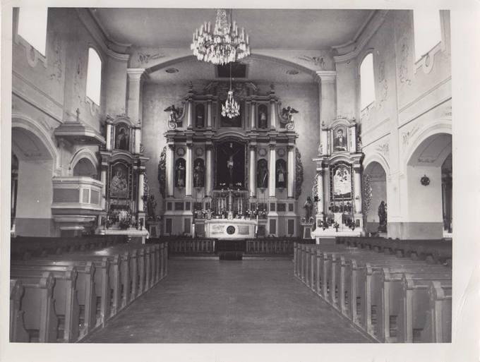 Pasvalio bažnyčios vidus. Jono Vytauto Nistelio fotografija