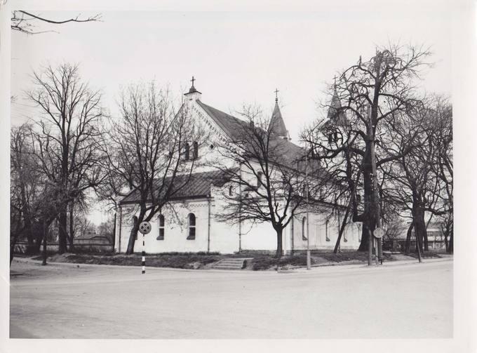 Pasvalio bažnyčia. Jono Vytauto Nistelio fotografija