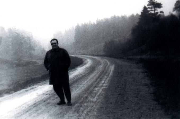 Kunigas Česlovas Kavaliauskas kelyje į Dubingius