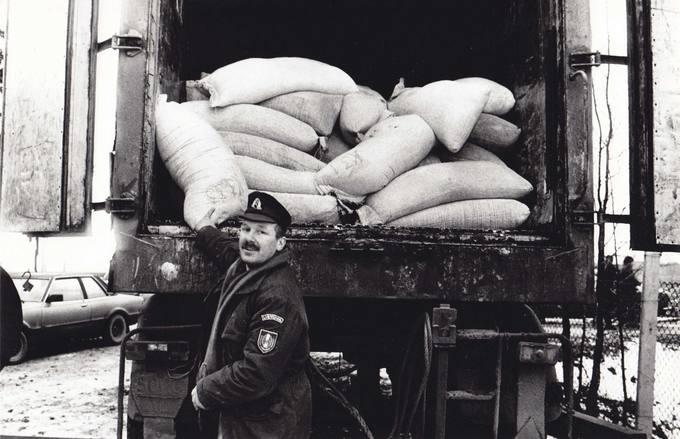 Pirmoji miltų kontrabanda, sulaikyta Puodžiūnų pasienio poste