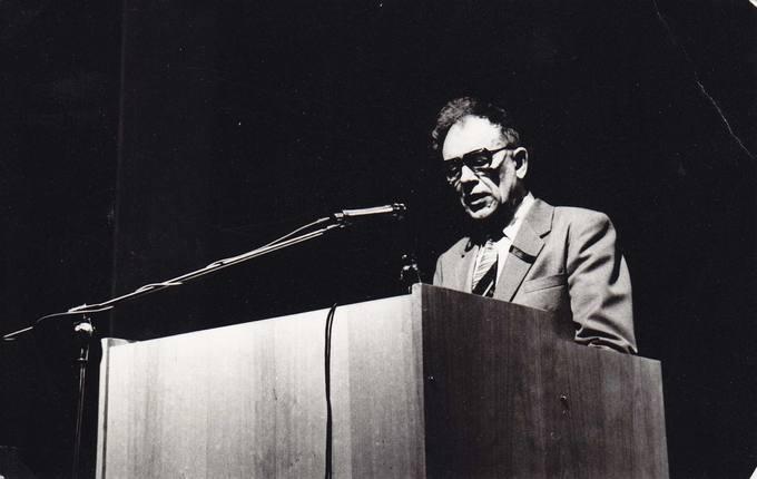 Kalba rašytojas Kazys Saja