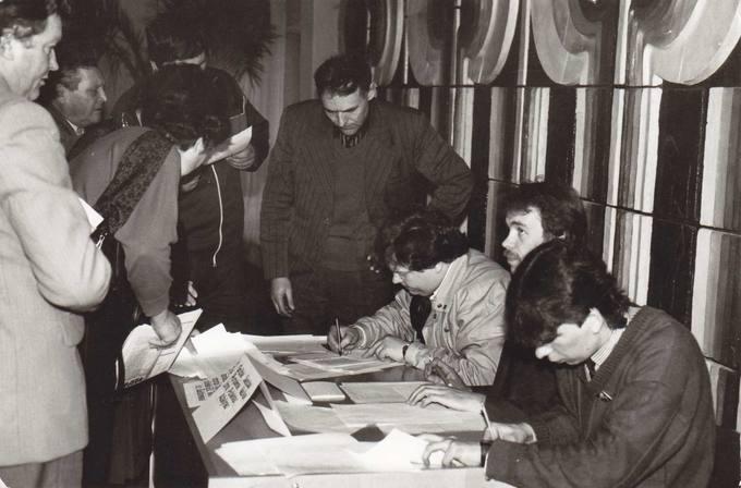 Pasvalio rajono Sąjūdžio tarybos rinkimai