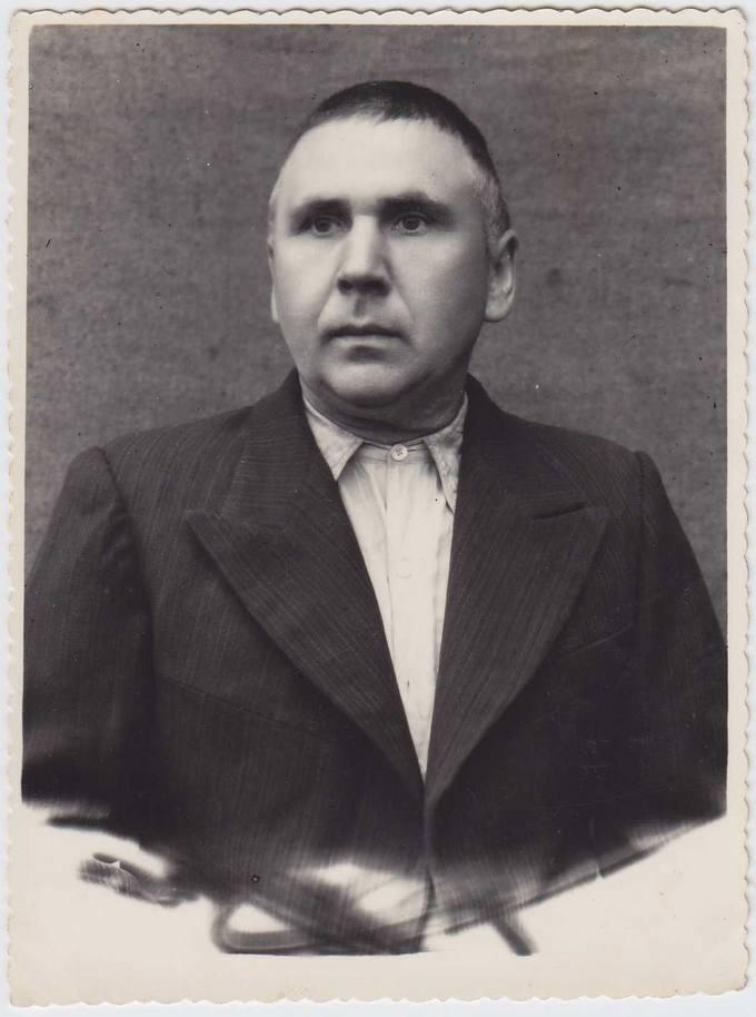 Teisininkas Kostas Čaplinskas tremtyje 1955 metais