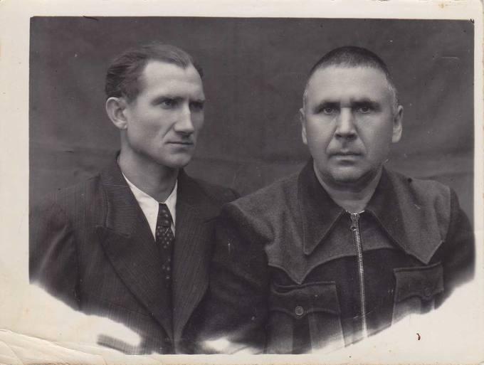 Kostas Čaplinskas su draugu tremties metais