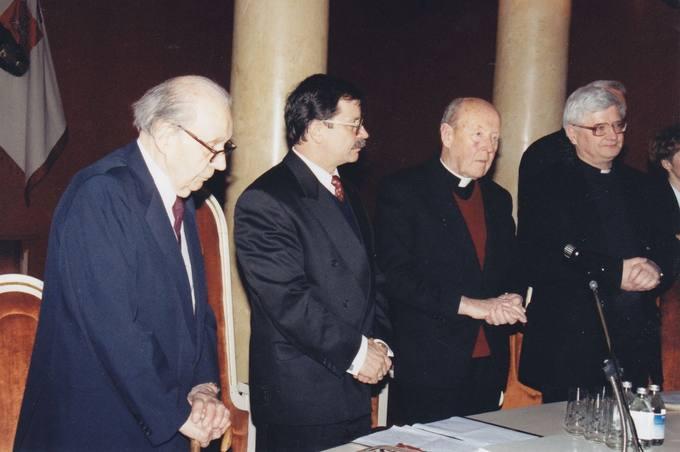 Diplomato dr. Stasio Antano Bačkio jubiliejinių iškilmių pradžia