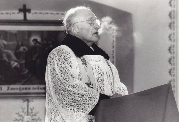 Joniškėlio parapijos klebono kunigo Benedikto Urbono pamokslas
