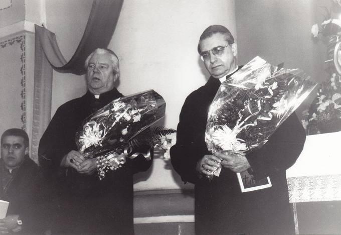 Diplomato dr. Stasio Antano Bačkio 90-mečio minėjime kalba Panevėžio vyskupas Juozapas Preikšas