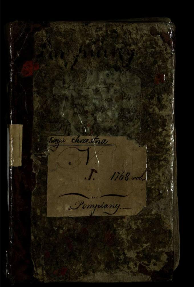 Pumpėnų Romos katalikų parapijos bažnyčios 1768–1799 metų krikšto metrikų knyga