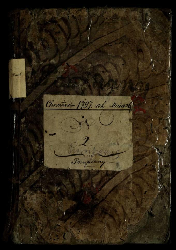 Pumpėnų Romos katalikų parapijos bažnyčios 1797–1810 metų krikšto metrikų knyga