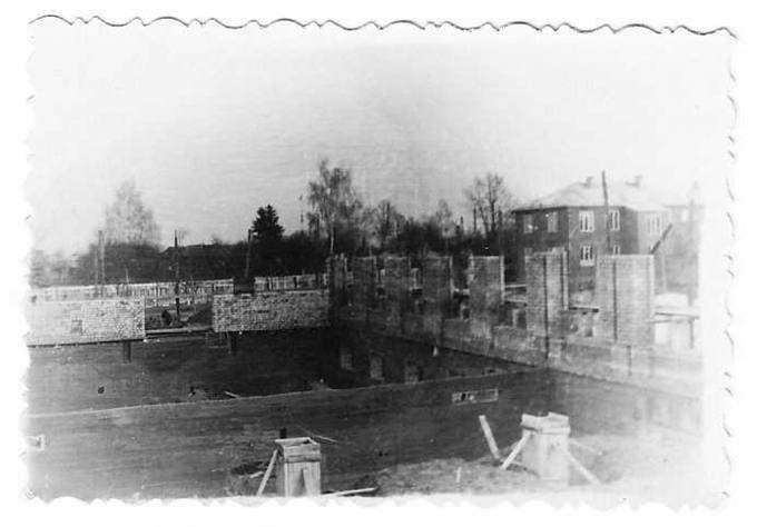 Pradėtos statyti Pasvalio internato valgyklos sienos