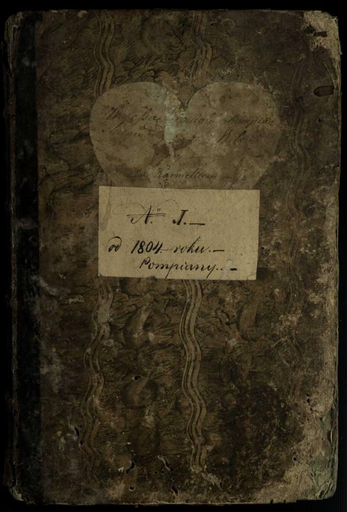 Pumpėnų Romos katalikų parapijos bažnyčios 1804–1829 metų raštų knyga
