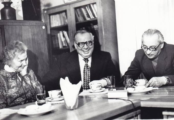 Atsiminimų apie Antaną Venclovą popietė Vilniaus Rašytojų muziejuje