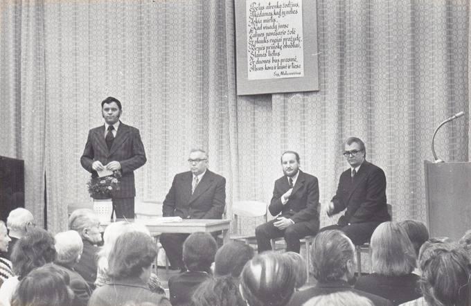 Eugenijaus Matuzevičiaus 60-mečio kūrybos vakaras Respublikinėje bibliotekoje