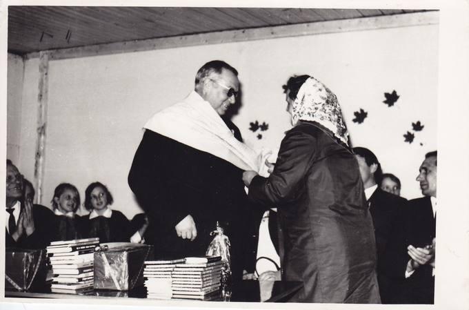 Eugenijus Matuzevičius susitikime su krinčiniečiais