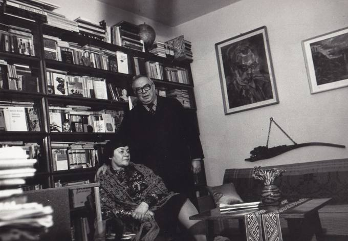 Eugenijus Matuzevičius su žmona Genovaite