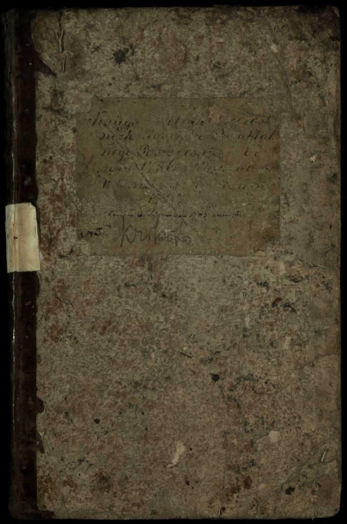 Pasvalio Romos katalikų parapijos bažnyčios 1786–1797 metų krikšto metrikų knyga