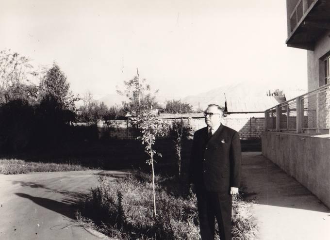 Eugenijus Matuzevičius Tadžikistane