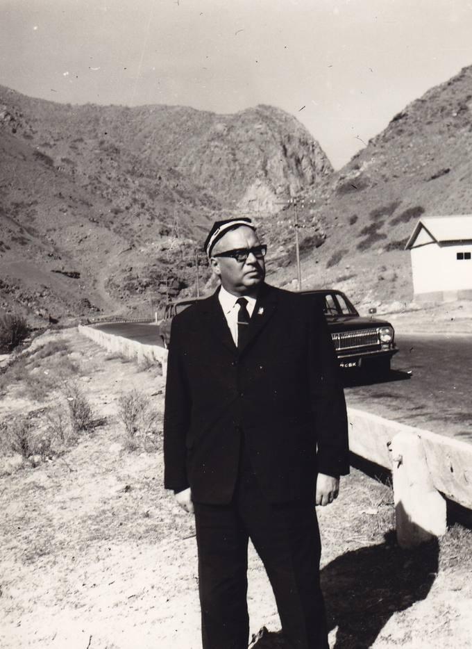 Eugenijus Matuzevičius Tadžikistane, Pamyro kalnuose