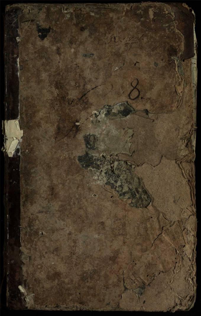 Pasvalio Romos katalikų parapijos bažnyčios 1814–1825 metų krikšto metrikų knyga