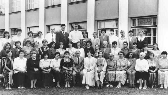 Pasvalio Petro Vileišio vidurinės mokyklos 75-mečio minėjimas