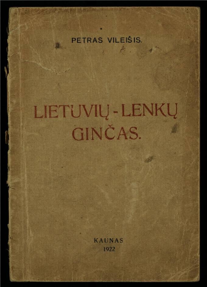 Lietuviu–lenkų ginčas
