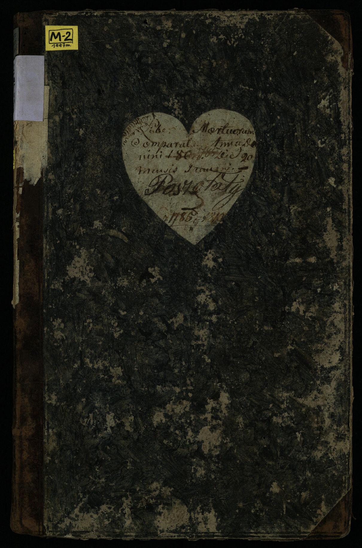 Pušaloto Romos katalikų parapijos bažnyčios 1785–1810 metų mirties metrikų knyga