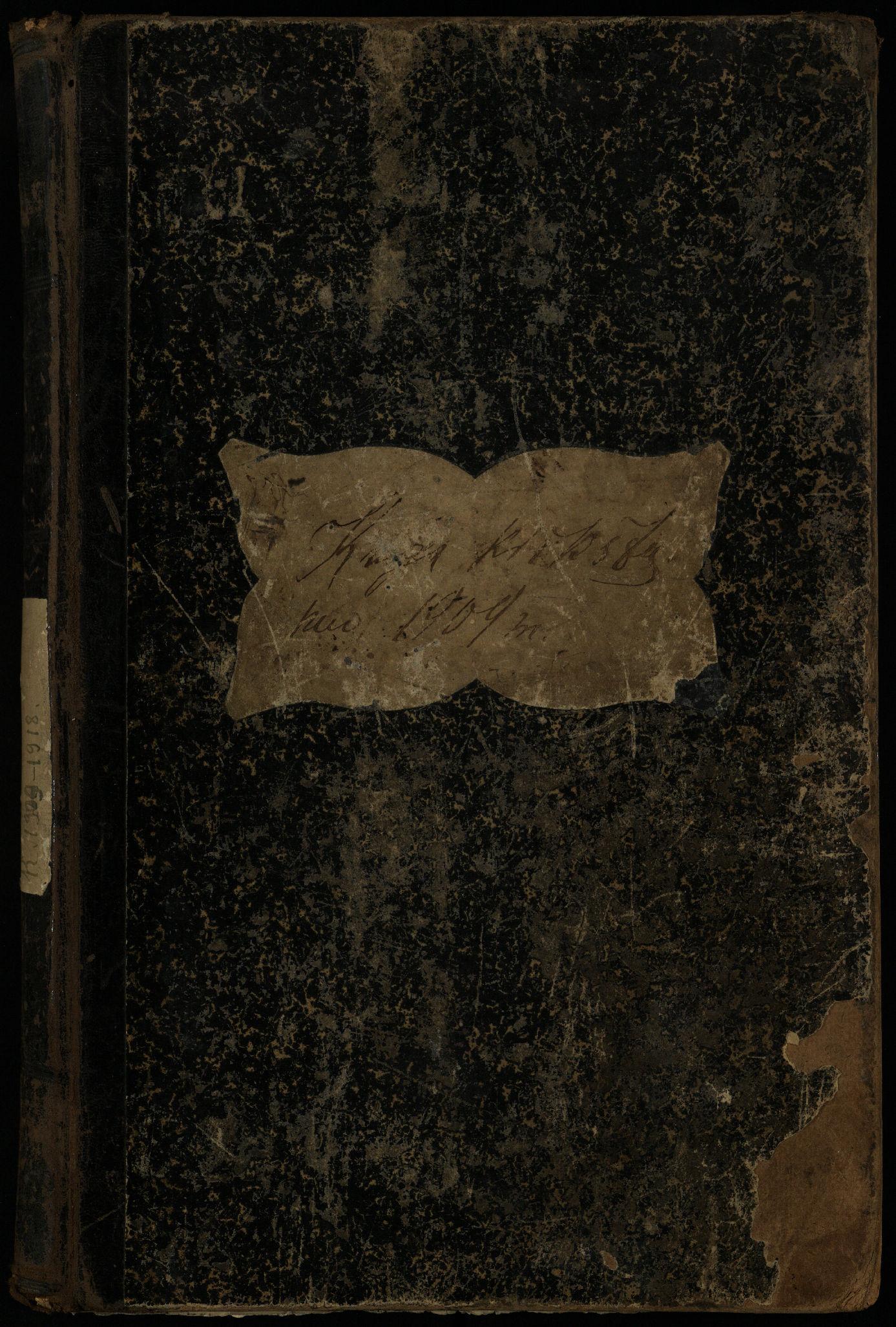 Pasvalio Romos katalikų parapijos bažnyčios 1909–1918 metų krikšto metrikų knyga