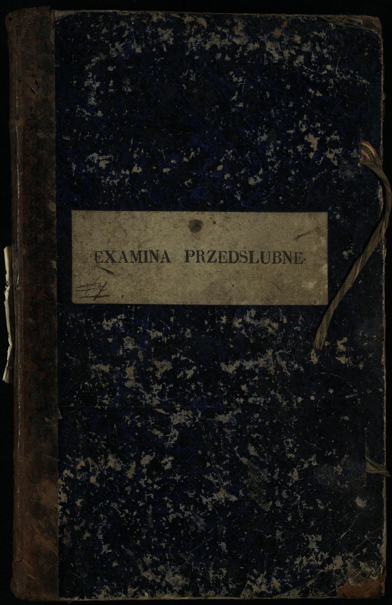 Pasvalio Romos katalikų parapijos bažnyčios 1859–1867 metų priešjungtuvinės apklausos knyga