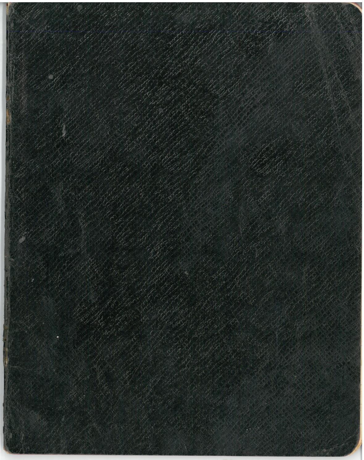 """Albino Vaitkaus (Mariaus Katiliškio) eilėraščių sąsiuvinis """"Eilėraščiai"""". III dal. Žagarė–Katiliškės. 1931.XI.12"""