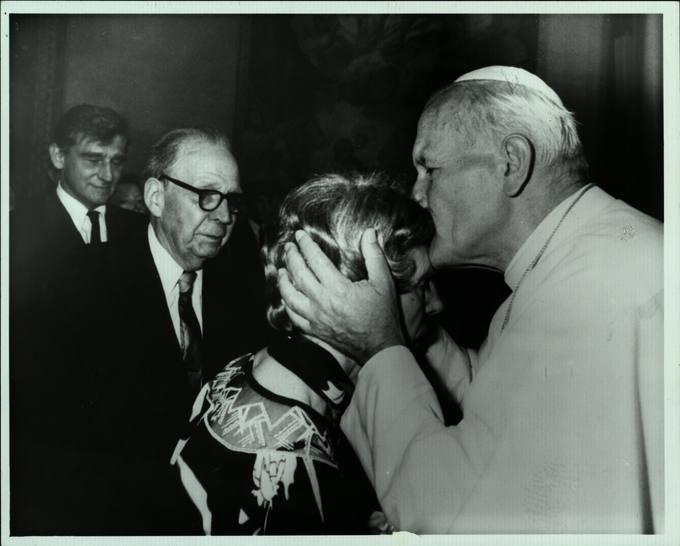 Audiencija pas Šventąjį Tėvą Joną Paulių II Vatikane