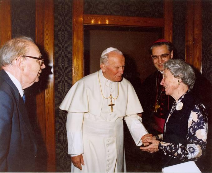 Susitikimas su Popiežiumi Jonu Pauliumi II Vilniuje