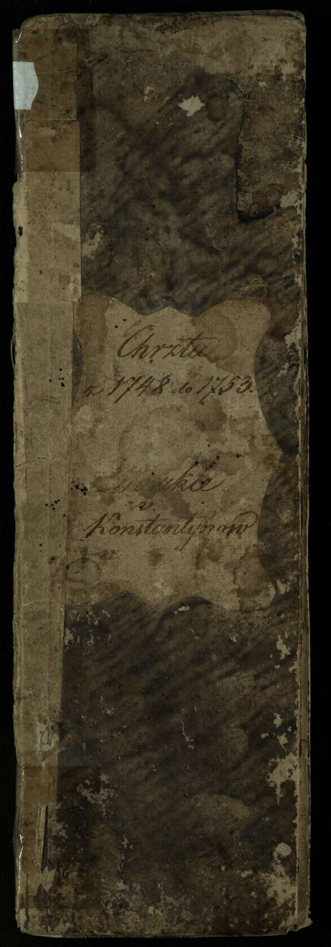 Vaškų Šv. Juozapo bažnyčios 1748–1753 metų krikšto metrikų knyga