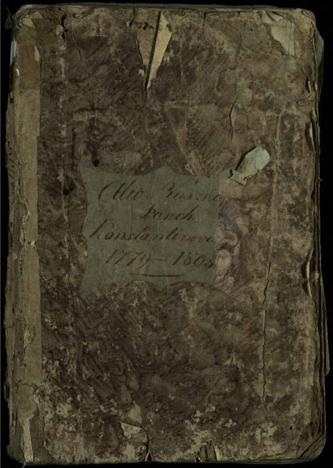 Vaškų Šv. Juozapo bažnyčios 1779–1803 metų krikšto metrikų knyga