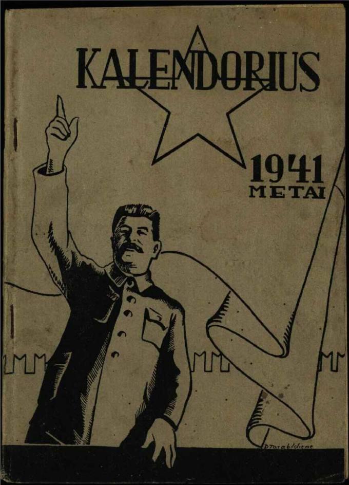 Darbininkų ir valstiečių kalendorius 1941 metams
