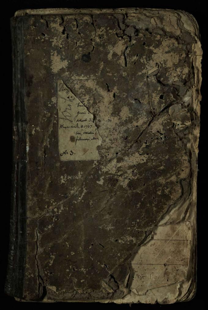 Pasvalio Romos katalikų parapijos bažnyčios 1736–1744 metų krikšto metrikų knyga
