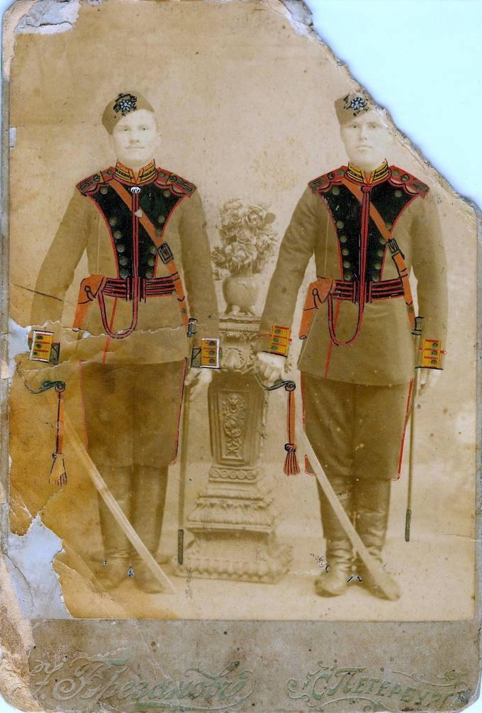 Carienės Jekaterinos raitosios artilerijos kariai