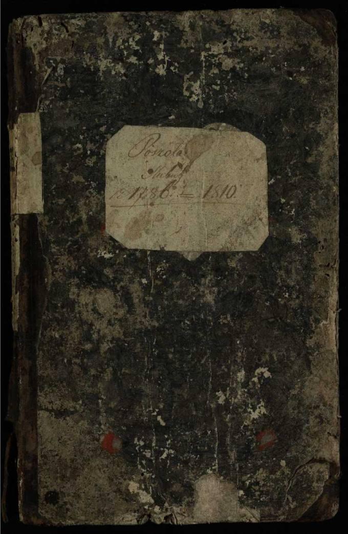 Pušaloto Romos katalikų parapijos bažnyčios 1786–1810 metų jungtuvių metrikų knyga